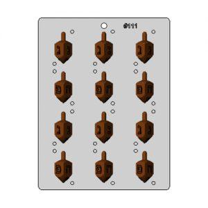 תבנית לשוקולד סביבון תלת מימד 111 בלעדי