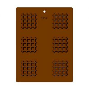תבנית לדקורציה בשוקולד רשת 1012