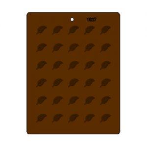 תבנית לדקורציה בשוקולד עלים מיני לדקורציה 1027