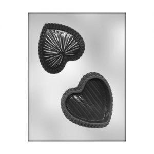 תבנית לשוקולד קופסא לב 90-1304