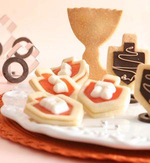 עוגיות-סביבונים חותכן עוגיות סביבון, אותיות