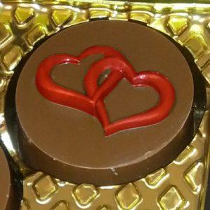 תבנית לשוקולד אוראו לב 90-16002