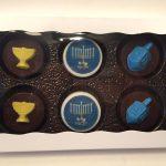 תבנית לשוקולד אוראו חנוכיה וסביבון