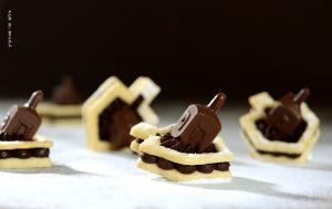 חותכן עוגיות סביבון + סביבון משוקולד