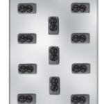 תבנית לפרלינים - 5025