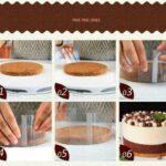 שקף לעוגה - הרכבה בעוגה עם בסיס אפוי