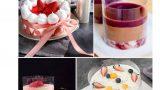 שקף לעוגה בעוגות מוס שונות