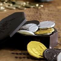 דמי חנוכה במטעות שוקולד ישראליים